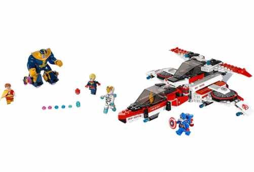 Конструктор LEGO Marvel Super Heroes 76049 Реактивный самолёт Мстителей