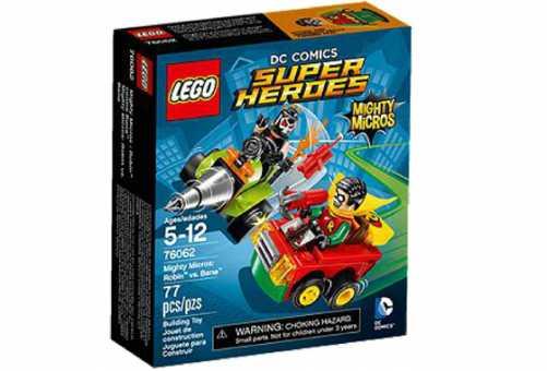Конструктор LEGO DC Super Heroes 76062 Робин против Бэйна