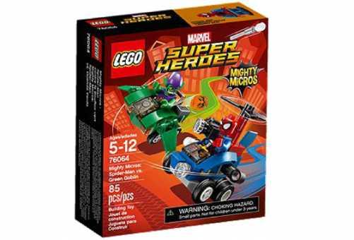 Конструктор LEGO Marvel Super Heroes 76064 Спайдермен против Зеленого гоблина