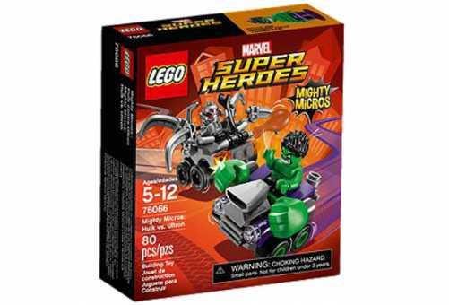 Конструктор LEGO Marvel Super Heroes 76066 Халк против Альтрона