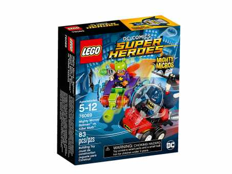Конструктор LEGO DC Super Heroes 76069 Бэтмен против Мотылька-убийцы
