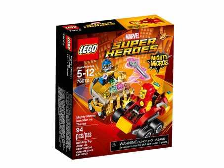 Конструктор LEGO Marvel Super Heroes 76072 Железный человек против Танос