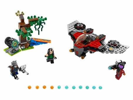 Конструктор LEGO Marvel Super Heroes 76079 Атака Опустошителя