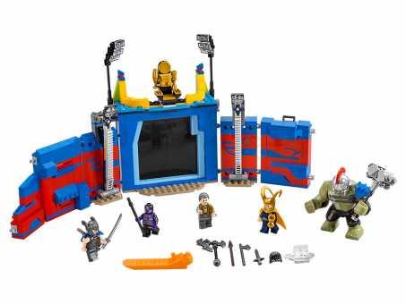Конструктор LEGO Marvel Super Heroes 76088 Тор против Халка на арене