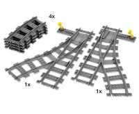 Конструктор LEGO City 7895 Переключаемые развилки