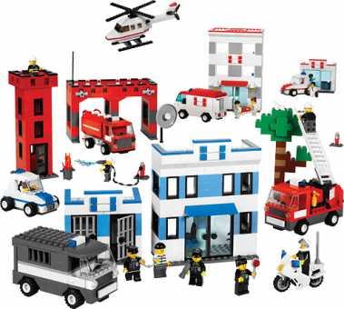 Конструктор LEGO Education PreSchool 9314 Службы спасения