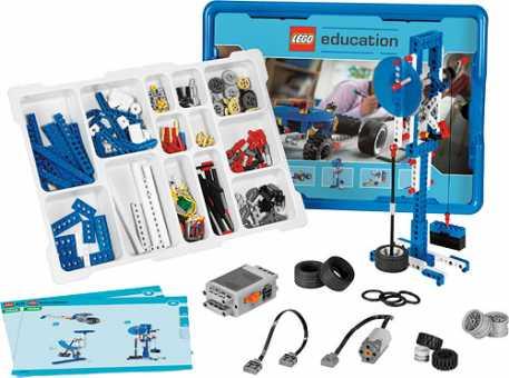 Электромеханический конструктор LEGO Education Machines and Mechanisms 9686 Технология и основы механики