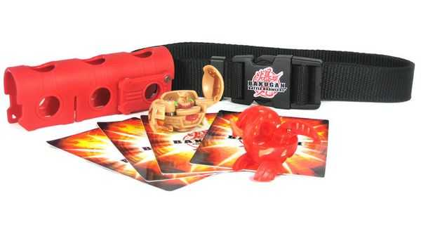 SM64282 - Игрушка Bakugan набор с ремнем для пояса (BAKUBELT)