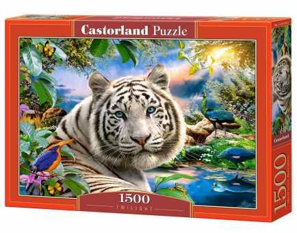 Пазл Castorland Twilight Тигр (C-151318) , элементов: 1500 шт.