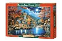 Пазл Castorland Cabin by the Lake Домик на озере (C-200504) , элементов: 2000 шт.