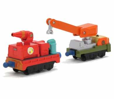 "Chuggington Вагоны ""Прицепы для Калли"", серия Die-Cast, LC54014"