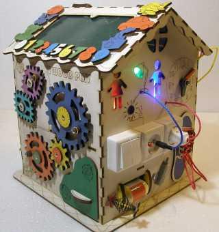 Дом малый со световым модулем