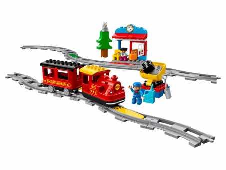 Электромеханический конструктор LEGO Duplo 10874 Поезд на паровой тяге