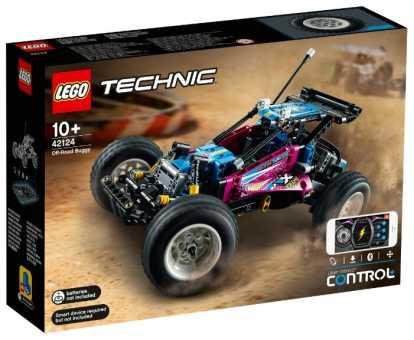 Электромеханический конструктор LEGO Technic 42124 Багги-внедорожник