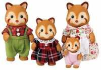 Фигурки Sylvanian Families Семья красных панд 3152
