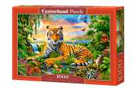 Пазл Castorland King of the Jungle  Король джунглей (C-103300) , элементов: 1000 шт.