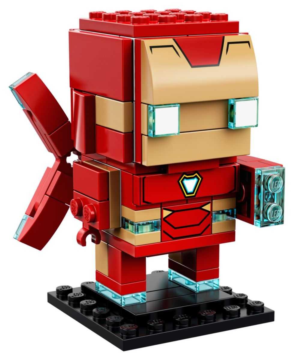 Конструктор LEGO BrickHeadz 41604 Железный человек MK50 ...