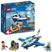 Конструктор LEGO City 60206 Воздушная полиция: Патрульный самолёт