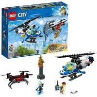 Конструктор LEGO City 60207 Воздушная полиция: Погоня дронов