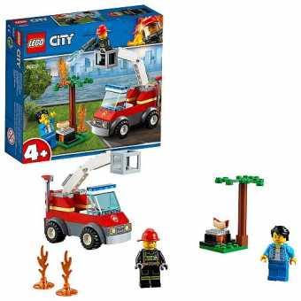 Конструктор LEGO City 60212 Пожарные: Пожар на пикнике