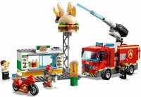 Конструктор LEGO City 60214 Пожарные: Пожар в бургер-кафе