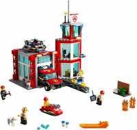 Конструктор LEGO City 60215 Пожарные: Пожарное депо