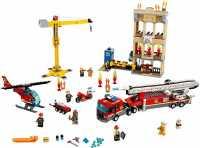 Конструктор LEGO City 60216 Пожарные: Центральная пожарная станция