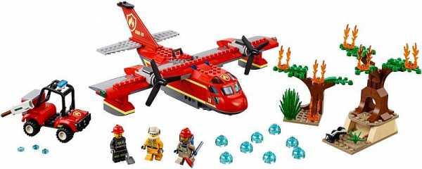 Конструктор LEGO City 60217 Пожарные: Пожарный самолёт