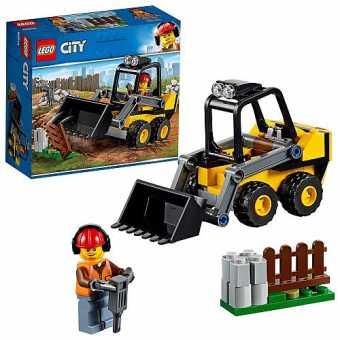 Конструктор LEGO City 60219 Строительный погрузчик