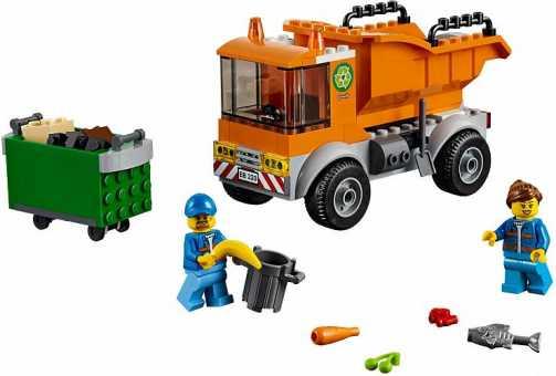 Конструктор LEGO City 60220 Мусоровоз
