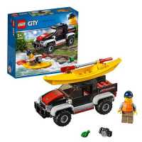 Конструктор LEGO City 60240 Сплав на байдарке
