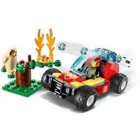 Конструктор LEGO City 60247 Лесные пожарные