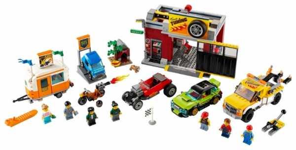Конструктор LEGO City 60258 Тюнинг-мастерская