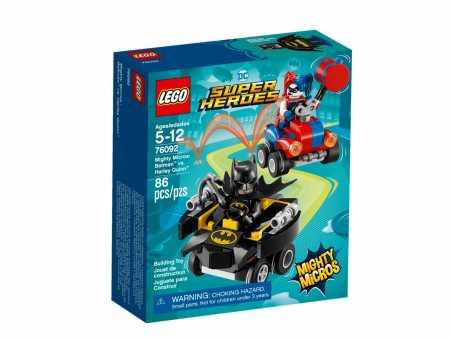 Конструктор LEGO DC Super Heroes 76092 Бэтмен против Харли Квин