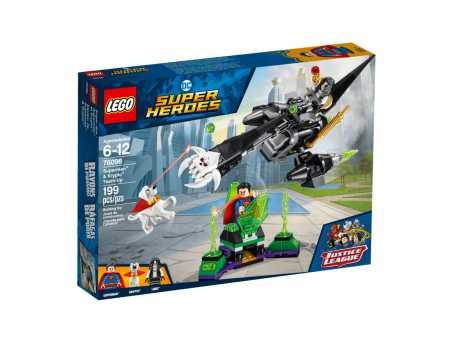 Конструктор LEGO DC Super Heroes 76096 Супермен и Крипто объединяют усилия
