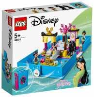 Конструктор LEGO Disney Princess 43174 Книга сказочных приключений Мулан