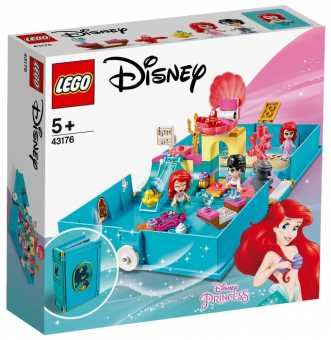 Конструктор LEGO Disney Princess 43176 Книга сказочных приключений Ариэль