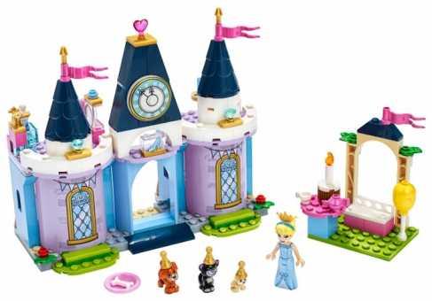 Конструктор LEGO Disney Princess 43178 Праздник в замке Золушки