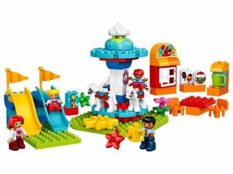 Конструктор LEGO Duplo 10841 Семейный парк аттракционов