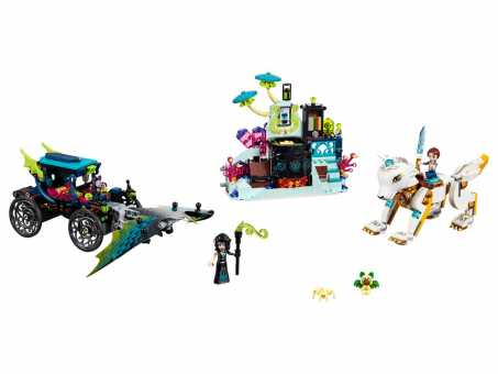 Конструктор LEGO Elves 41195 Решающий бой между Эмили и Ноктурой