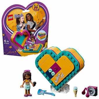 Конструктор LEGO Friends 41354 Шкатулка-сердечко Андреа