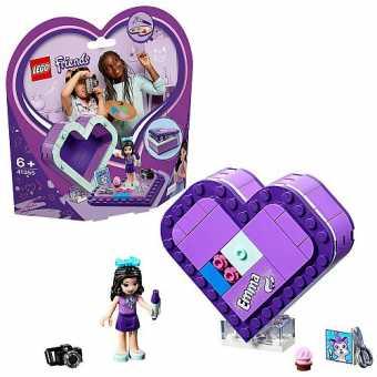 Конструктор LEGO Friends 41355 Шкатулка-сердечко Эммы