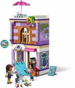 Конструктор LEGO Friends 41365 Художественная студия Эммы