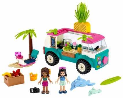 Конструктор LEGO Friends 41397 Фургон-бар для приготовления сока