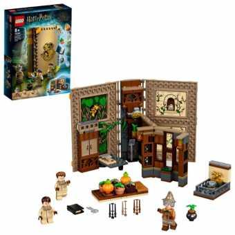 Конструктор LEGO Harry Potter 76384 Учёба в Хогвартсе: Урок травологии