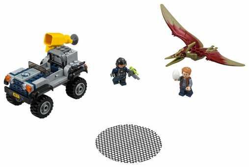 Конструктор LEGO Jurassic World 75926 Погоня за Птеранодоном