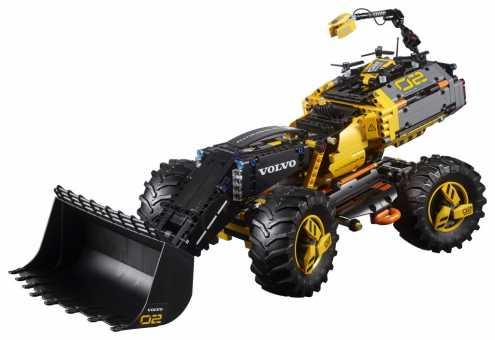 Конструктор Lego LEGO Technic 42081 VOLVO колёсный погрузчик ZEUX