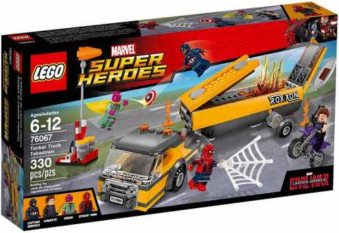 Конструктор LEGO Marvel Super Heroes 76067 Захват автоцистерны