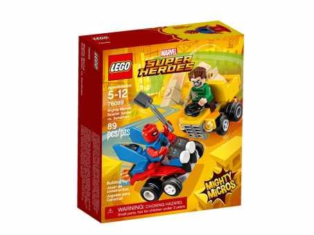 Конструктор LEGO Marvel Super Heroes 76089 Человек-Паук против Песочного человека