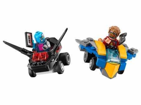 Конструктор LEGO Marvel Super Heroes 76090 Звездный Лорд против Небулы